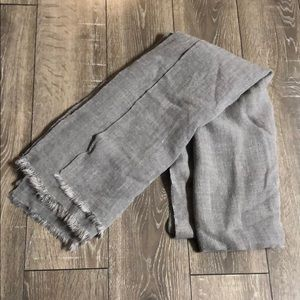 NWT Forever 21 Large Gray Woven Scarf